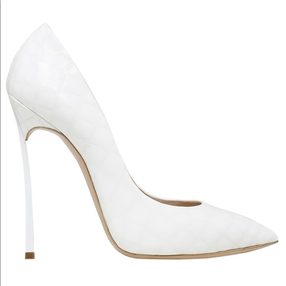free shipping sneakernews outlet cheap prices Casadei Embossed Leather Pumps MWdksLu0wV
